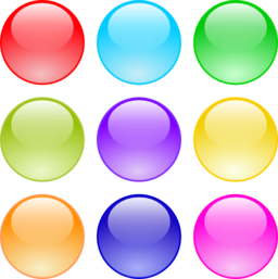 glossy circle buttons clipart i2clipart royalty free rainbow clipart free black and white rainbow clipart images