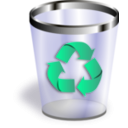 download Trash clipart image with 45 hue color