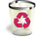 download Trash clipart image with 225 hue color