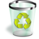 download Trash clipart image with 315 hue color