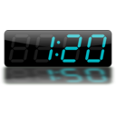 download Digital Clock clipart image with 45 hue color