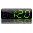 download Digital Clock clipart image with 315 hue color
