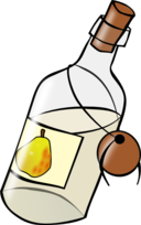 Bottle With Moonshine