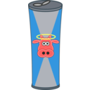 Simple Cartoon Energy Drink Can