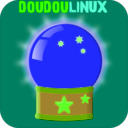 download Doudoulinux Crystal Ball 2 clipart image with 45 hue color