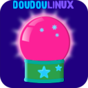 download Doudoulinux Crystal Ball 2 clipart image with 135 hue color