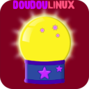 download Doudoulinux Crystal Ball 2 clipart image with 225 hue color