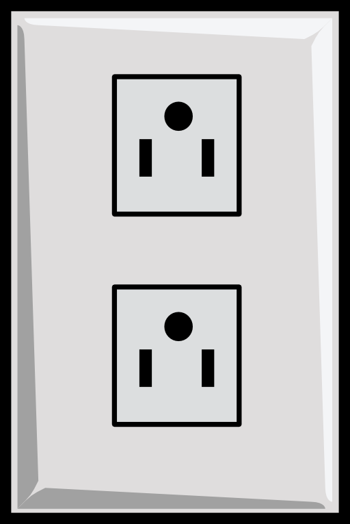 Power Outlet Us Clipart