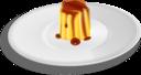 Creme Caramel On Plate