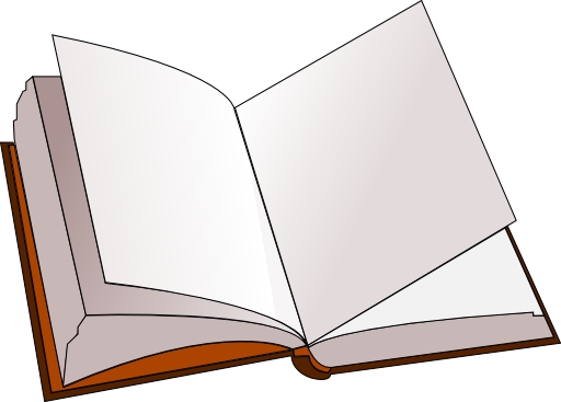 Coloring Pages Open Book