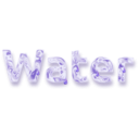 download Water clipart image with 45 hue color