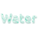 download Water clipart image with 315 hue color