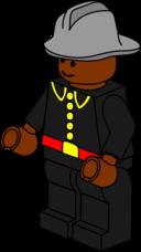 Lego Town Fireman 2