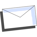 download Envelope clipart image with 45 hue color