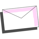 download Envelope clipart image with 135 hue color