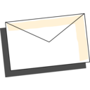 download Envelope clipart image with 225 hue color