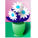 download Flowers clipart image with 135 hue color