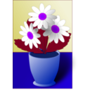 download Flowers clipart image with 225 hue color