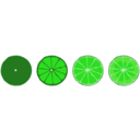 download Progressive Limes clipart image with 45 hue color