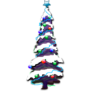 download Christmas 002 clipart image with 135 hue color