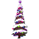 download Christmas 002 clipart image with 225 hue color