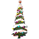 download Christmas 002 clipart image with 315 hue color
