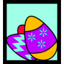 download Easter Eggs clipart image with 225 hue color