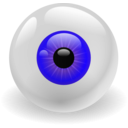 download Eye clipart image with 45 hue color