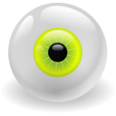 download Eye clipart image with 225 hue color