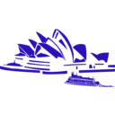 download Sydney Opera clipart image with 45 hue color