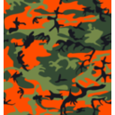 Camo Print Hunter Orange