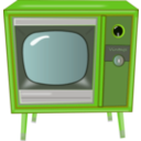 download Vintage Tv clipart image with 45 hue color