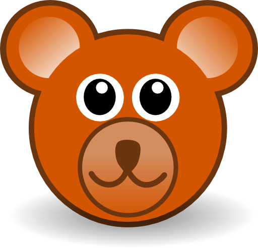 funny teddy bear face brown clipart i2clipart royalty eps clipart free download royalty free eps clipart