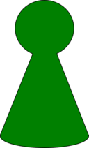 Ludo Piece Green