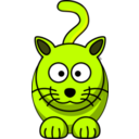 download Cat clipart image with 45 hue color