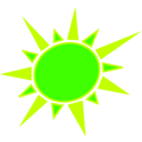 download Yellow And Orange Sun clipart image with 45 hue color