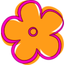 download Fleur clipart image with 315 hue color