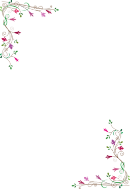 Floral Frame Clipart | i2Clipart - Royalty Free Public Domain Clipart