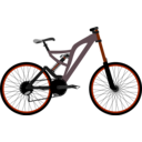 download Mountain Bike clipart image with 315 hue color