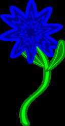 Triptastic Blue Flower