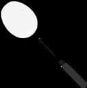 Badminton Racket With Strings