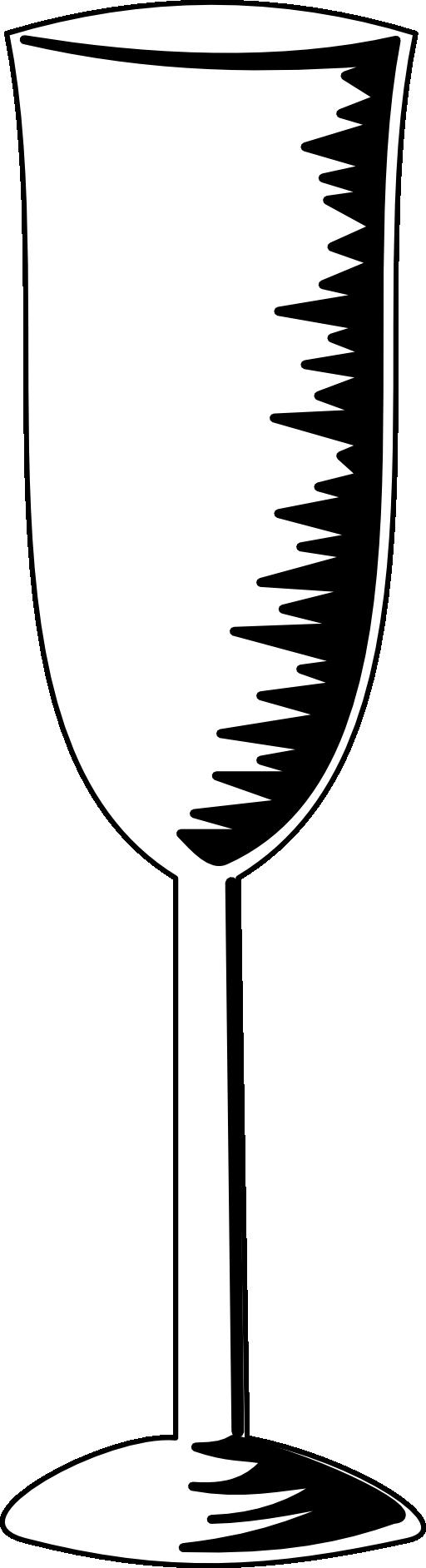 Champagne Glass Clipart Champagne glass clipart