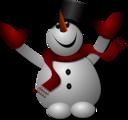 Happy Snowman 1