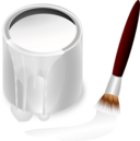 Color Bucket White