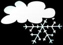 Weather Symbols Snow Storm