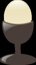 Egg With Egg Holder