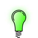 download Lightbulb Bright clipart image with 45 hue color
