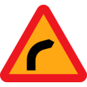 Dangerous Bend Bend To Right