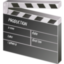 download Other Movie Clapper Board clipart image with 225 hue color