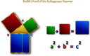 Euclids Pythagorean Theorem Proof Remix 2